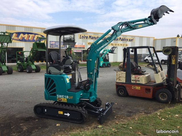 LMTP LOIRE MANUTENTION TP Minipelle 1.8 T Sunward Moteur Yanmar 209